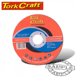 CUTTING DISC STAINLESS STEEL 115 X 3.0 X 22.22MM