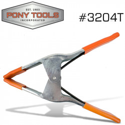 PONY 4' SPRING CLAMP WITH PROTECTIVE HANDLES & TIPS
