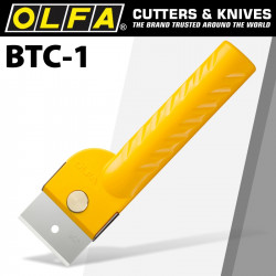 OLFA SCRAPER AND CUTTER 43MM JAPANESE LEATHER KNIFE REPLACABLE BLADE