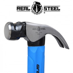 HAMMER CLAW CURVED 450G 16OZ GRAPH. HANDLE