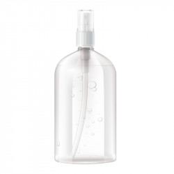 HAND AND SURFACE SANITISER ALCOHOL 70% 330ML BOTTLE