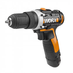DRILL DRIVER 12V 2 X 2.0AH STD CHARGER INJ BOX WITH HOLSTER WORX